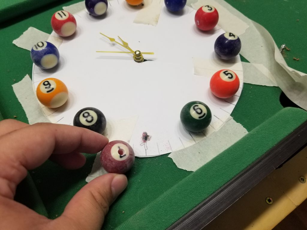 Picture of Drill Into Your Pool Balls