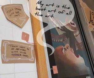Talking Art Display