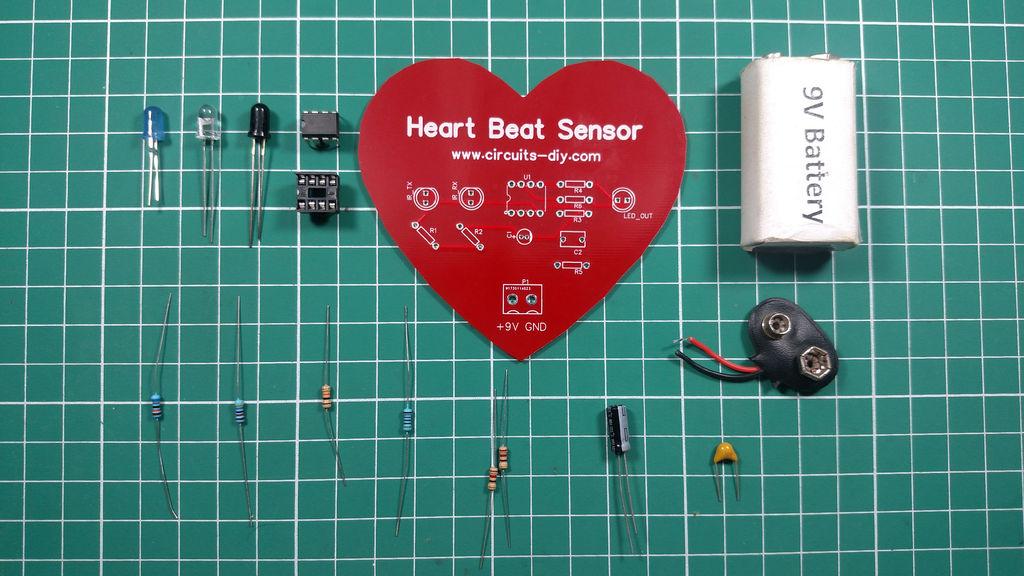 Heartbeat Sensor Circuit Pulsesensorcircuitjpg