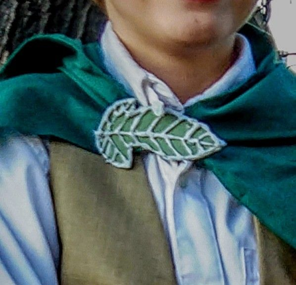 Picture of The Leaf of Lorien Brooch