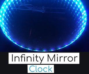 Easy DIY Infinity Mirror Clock