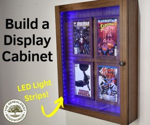 Comic Book Display Cabinet