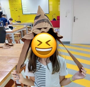 Harry Potter Hat With Makey Makey