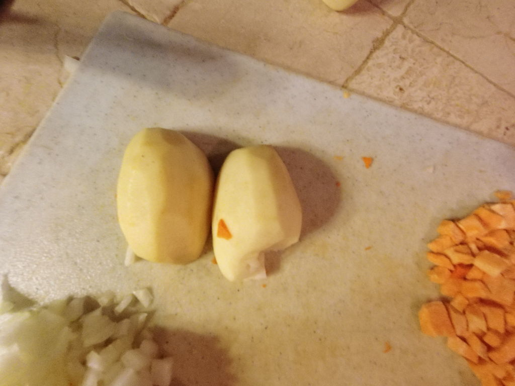 Picture of Cutting and Dicing the Vegetables