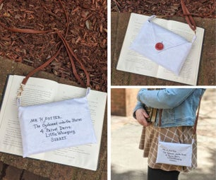 Harry Potter Hogwarts Letter Purse