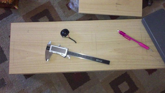 Measure Out With Calipers and Square Where to Place and Then Cut Out With a Hole Saw Bit