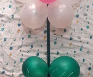 🌷 Garden Flower Made From Wood Rod and Balloons 🌷
