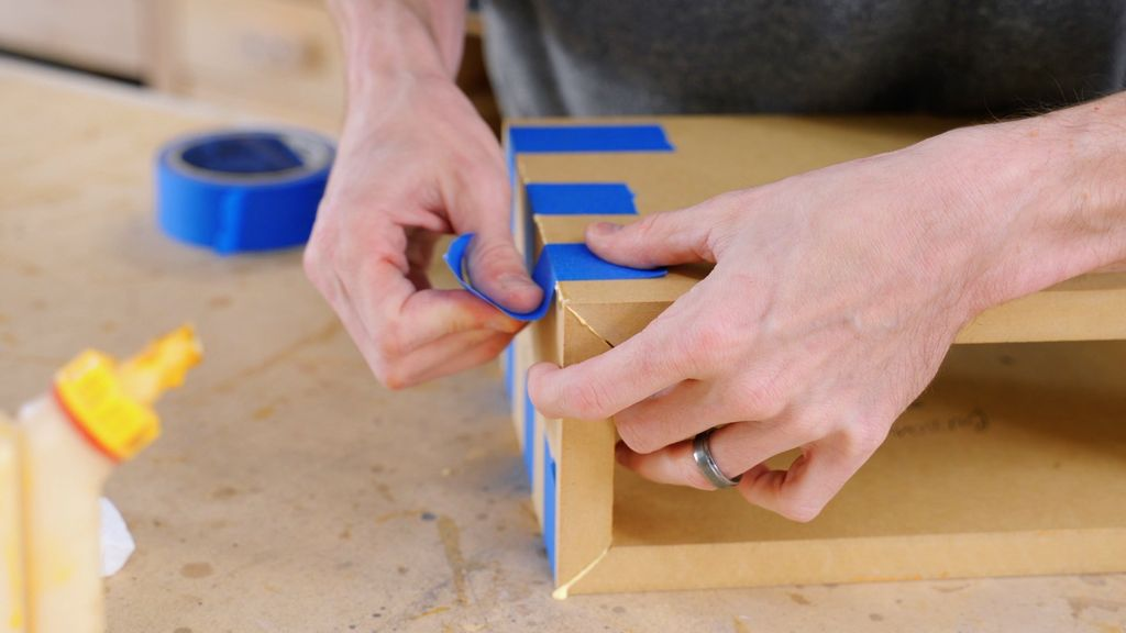 Picture of Glue the Box Assembly Together