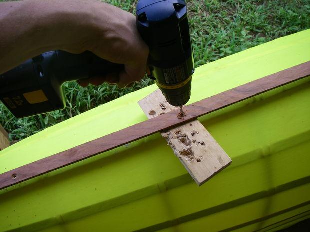 Drill Screw Holes