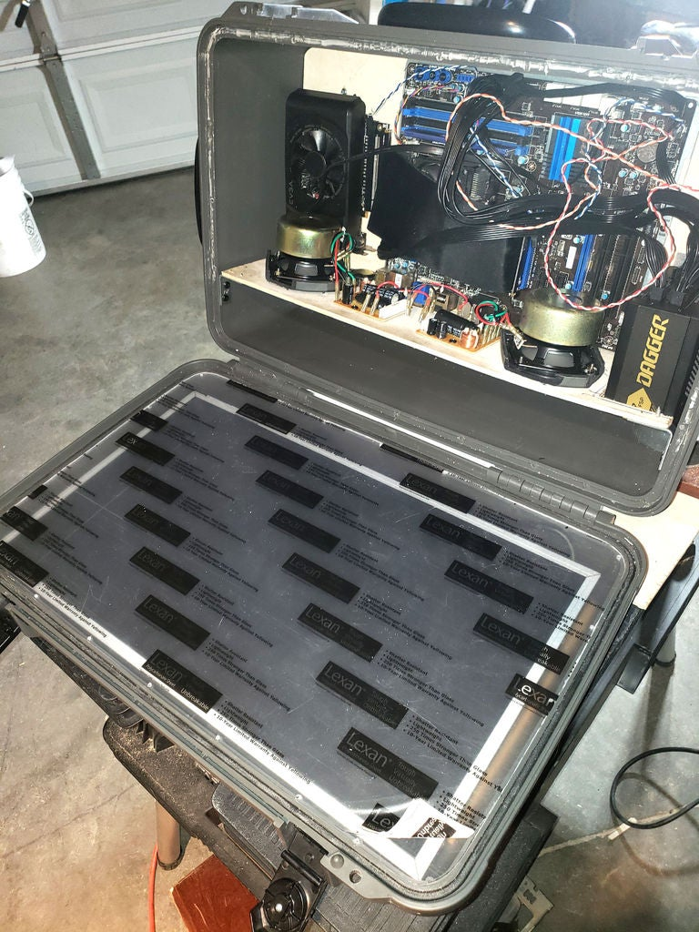 Picture of Installing the Monitor