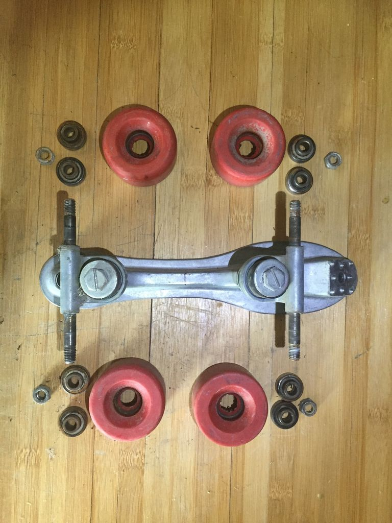 Picture of OPTIONAL: Cleaning Wheels, Trucks and Bearings