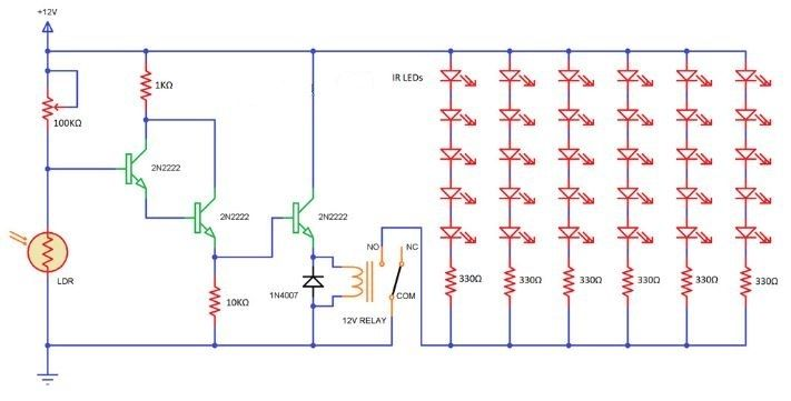 Picture of IR Illuminator (Infrared) Part-1