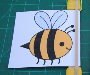 蜂蜂鸣器 - 橡皮筋噪声玩具