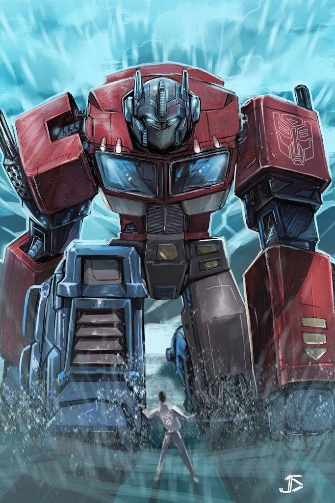 Picture of Molde 3D De Optimus Prime