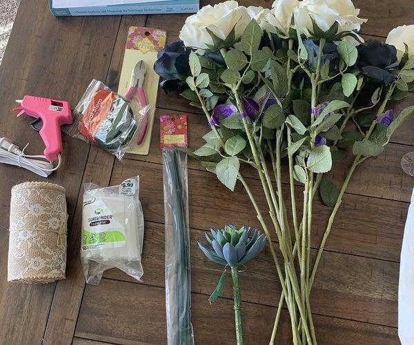 Building an Artificial Floral Bouquet!