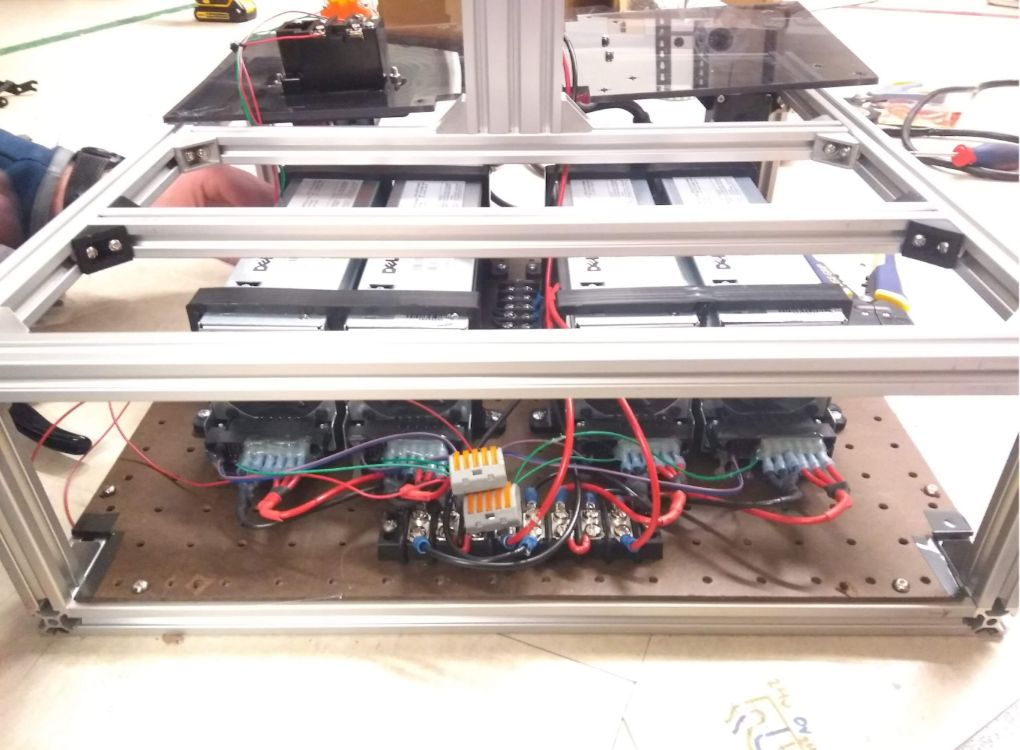 Picture of Wiring the Power Supplies