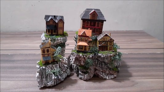 Use of Model Houses and Epoxy Resin