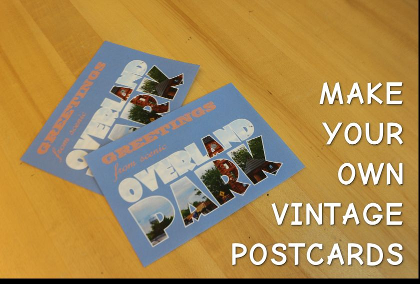 Picture of Make Your Own Vintage Postcards