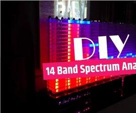 Super Sized Acryllic Spectrum Analyzer