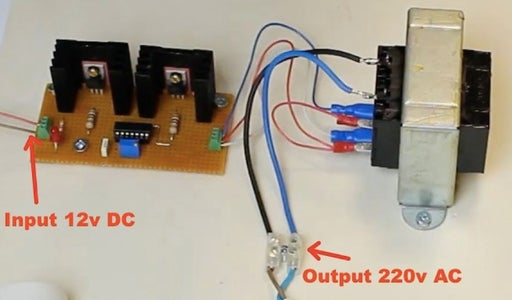 Final Circuit With All the Components