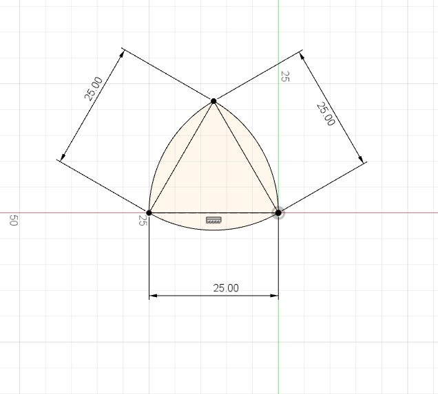 Picture of Drawing Shape of Constant Width