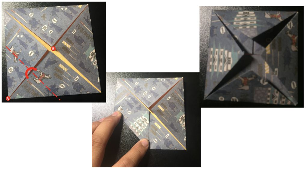 Picture of Fold Corners to the Center 2
