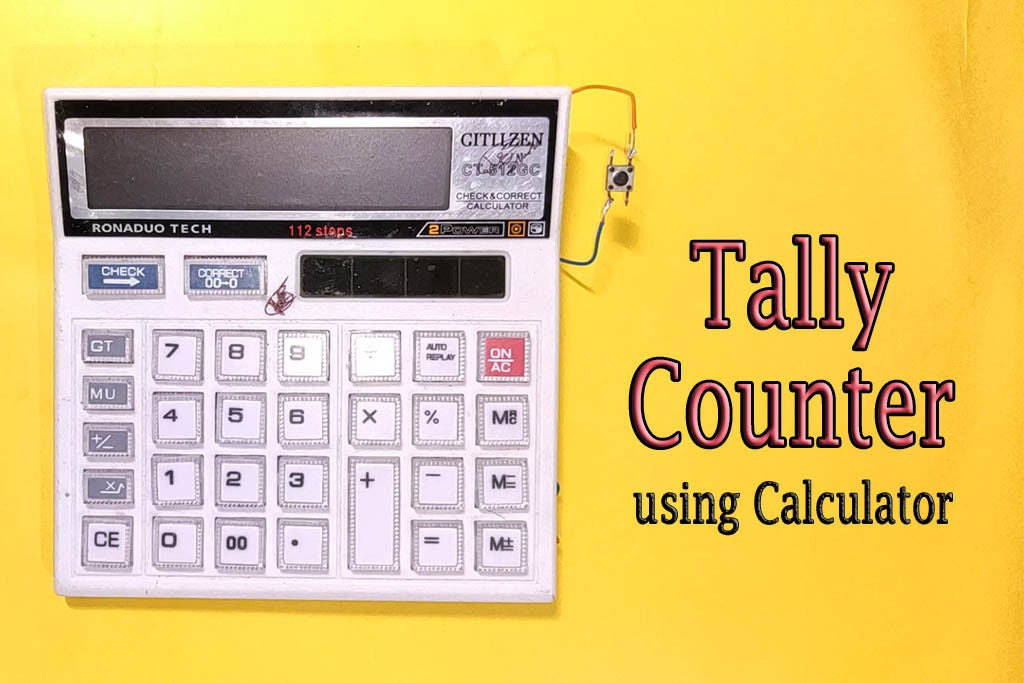 Picture of DIY || Tally Counter From Calculator