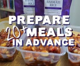 Prepare 20+ Meals in Advance