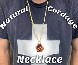 Natural Cordage Necklace