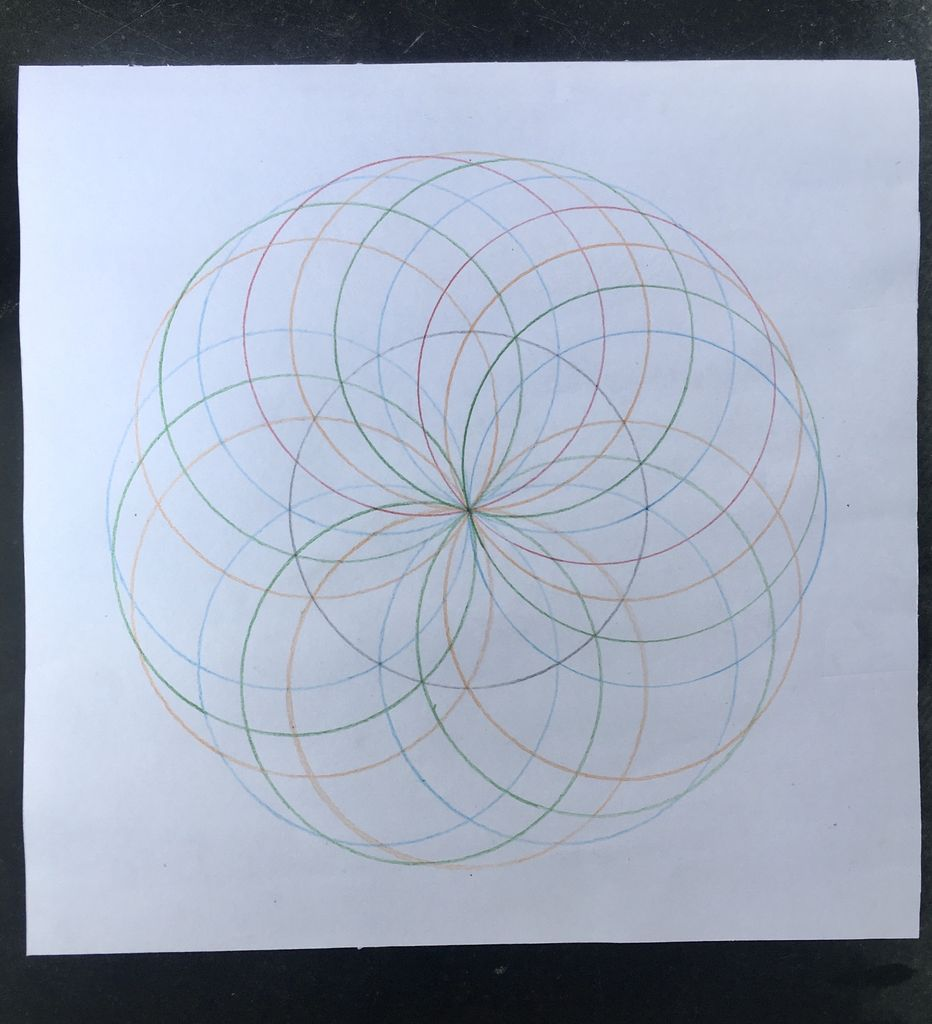 Picture of LAST SET OF MANDALA IN 45° - 4th SET