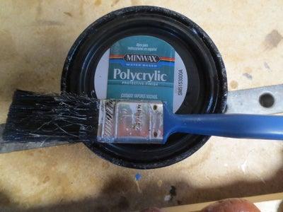 Applying Polycrylic