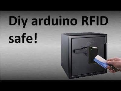 Arduino RFID Vault Safe