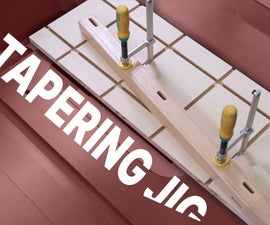 Tablesaw Tapering Jig
