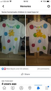 Children in Need T-shirts for My Children