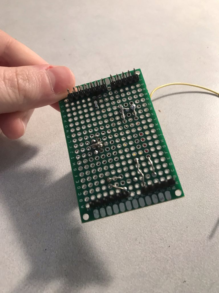 Picture of Soldering the PCB Board