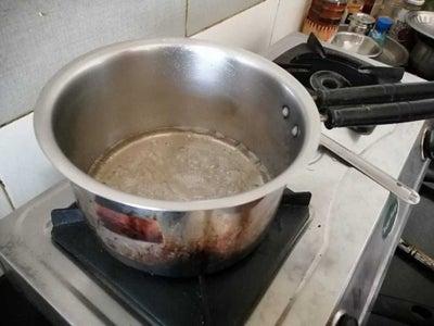 Making Coffee Caramel