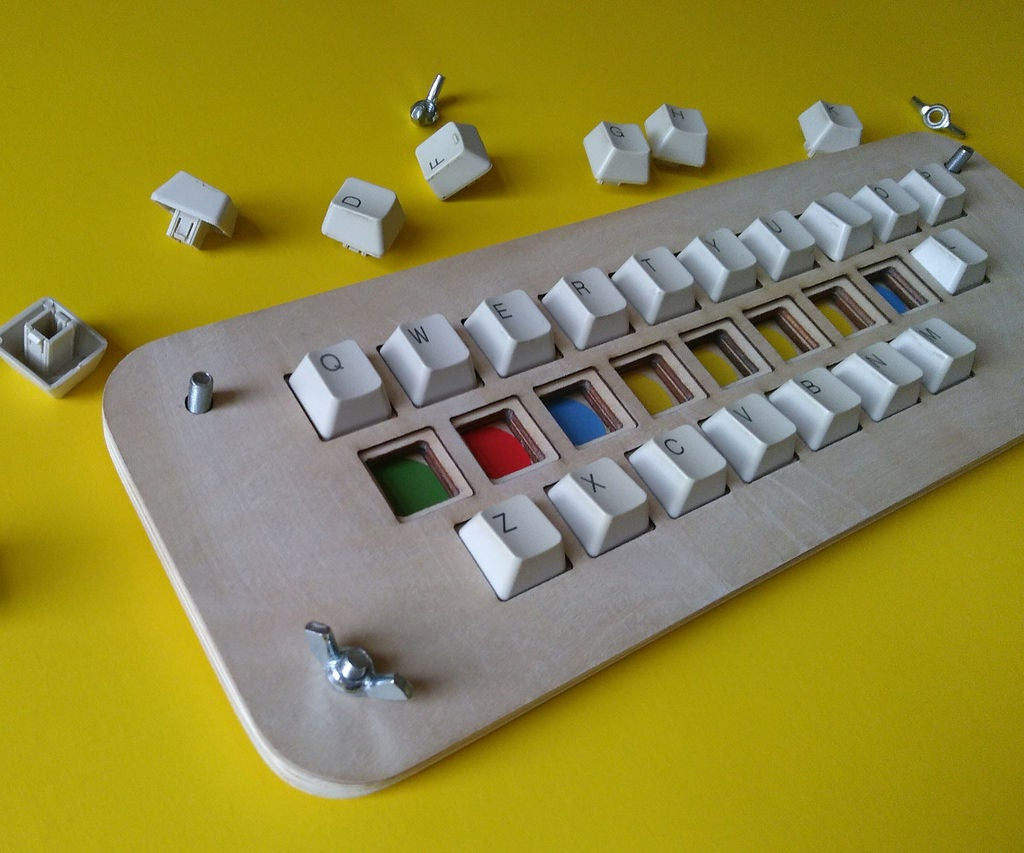 Picture of Keyboard Puzzle for Touch-Typing Classes