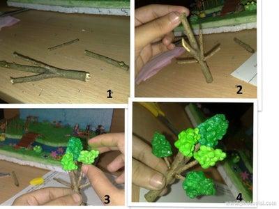 Bushes & Tree