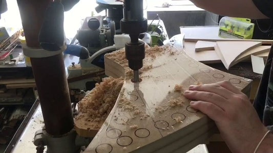 Drill Holes in Bending Form