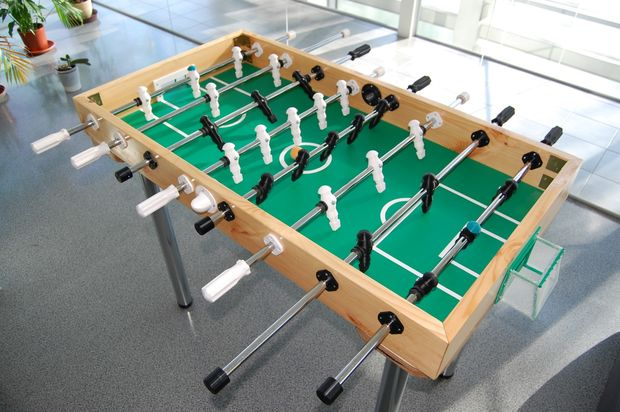 build your own foosball table 11 steps with pictures. Black Bedroom Furniture Sets. Home Design Ideas