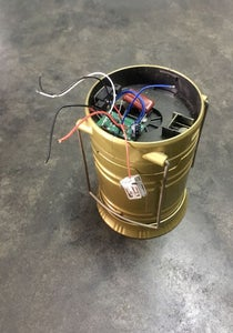 DISCONNECT UPPER LIGHT COMPARTMENT COMPONENTS