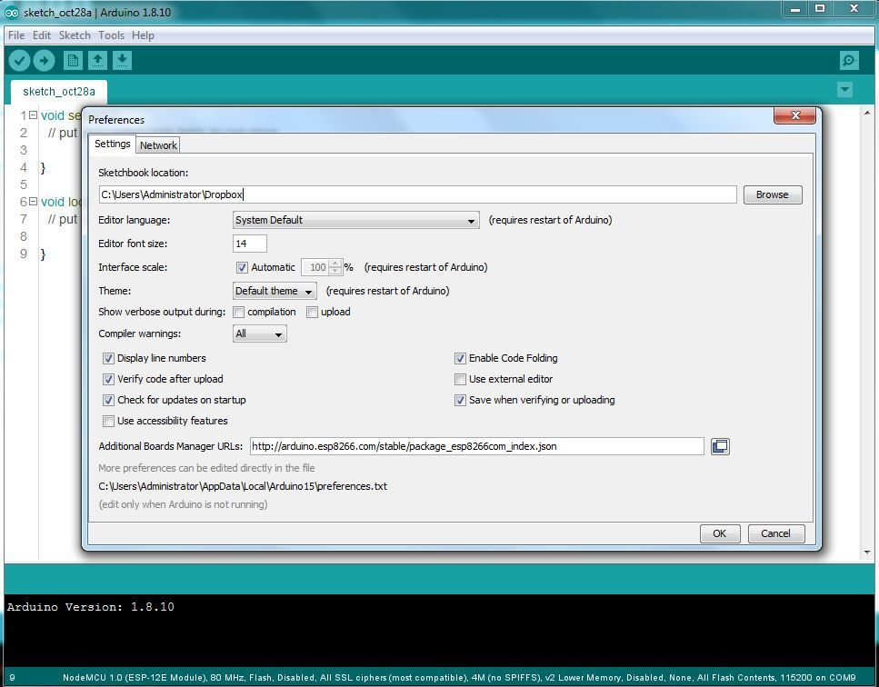 Picture of Opening Arduino IDE
