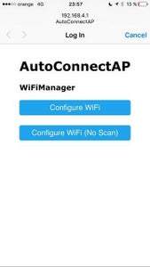 ESP32 WIFI Autoconnect and UDP Broadcast