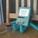 Adventure Time's BMO: GBC Mod Replica