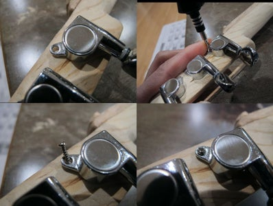 Installing Tuning Machines