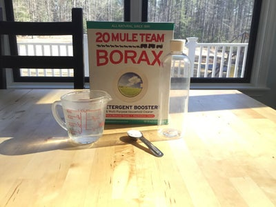 Borax and Water