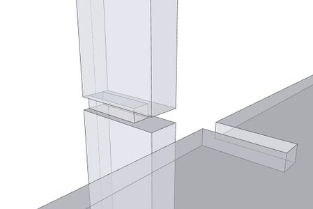 Mill the Support Columns & Add Joinery