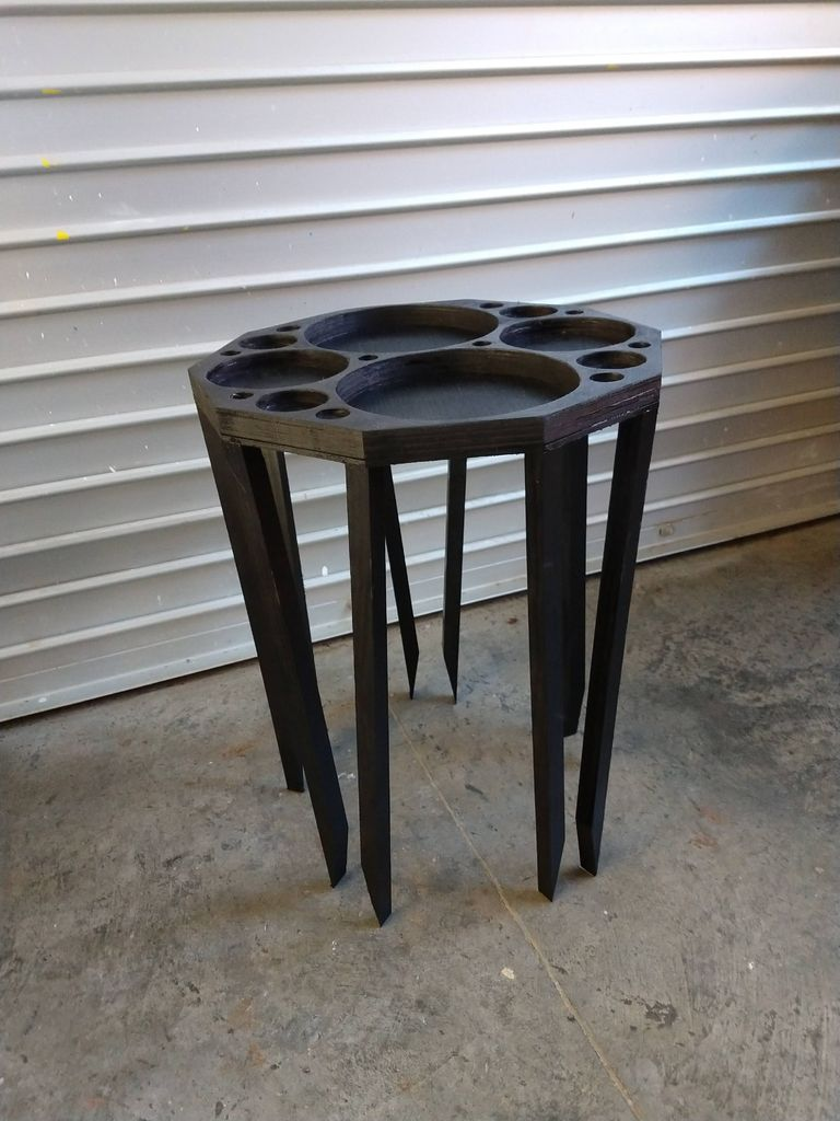 Picture of How to Build an Apollonian Gasket End Table