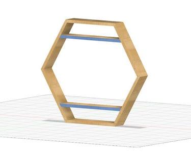 Add Upper and Lower Shelf