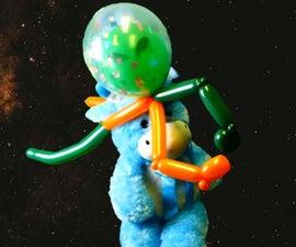 外国人旅游气球帽子 -  Covid-19太空头盔升级